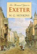 Cover of: Two Thousand Years In Exeter | W. G. Hoskins