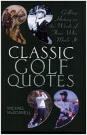 Cover of: Classic Golf Quotes