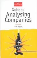 Cover of: The Economist Guide to Analysing Companies
