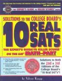 Cover of: Solutions to the College Board