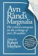 Cover of: Ayn Rand's Marginalia