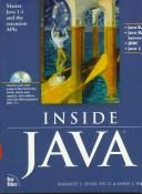 Cover of: Inside Java (Java (Addison-Wesley)) | James L. Weaver
