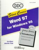 Cover of: Learning Word 97 Shortcourse Introduction