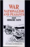 War, Nationalism and Peasants