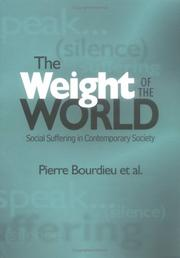 Cover of: The Weight of the World