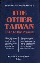 Cover of: The Other Taiwan 1945 to the Present