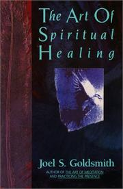 Cover of: The art of spiritual healing