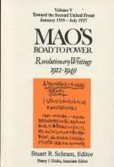 Cover of: Mao's road to power
