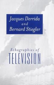Cover of: Echographies of Television: Filmed Interviews
