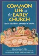 Cover of: Common life in the early church