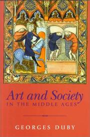 Cover of: Art and Society in the Middle Ages