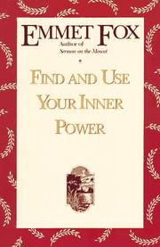 Cover of: Find and Use Your Inner Power