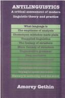 Cover of: Antilinguistics