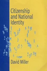 Cover of: Citizenship and National Identity