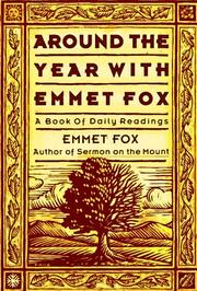 Cover of: Around the Year with Emmet Fox