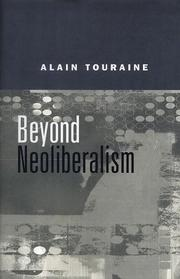 Cover of: Beyond Neo-Liberalism