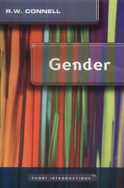 Cover of: Gender (Short Introductions) | R. W. Connell