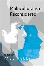 Cover of: Multiculturalism Reconsidered