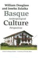 Basque Culture by William A. Douglass