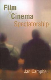 Cover of: Film and Cinema Spectatorship | Jan Campbell