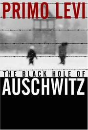 Cover of: The Black Hole of Auschwitz by Primo Levi