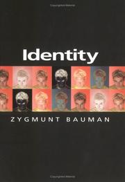 Cover of: Identity by