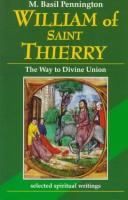 Cover of: William of Saint Thierry