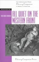 Cover of: Literary Companion Series - All Quiet on the Western Front