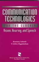 Cover of: Communication technologies for the elderly |