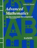 Cover of: Advanced Mathematics