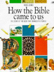 Cover of: How the Bible Came to Us