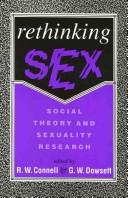 Cover of: Rethinking sex |