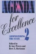 Cover of: Agenda for Excellence 2 |