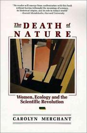 Cover of: The death of nature