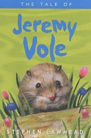Cover of: The Tale of Jeremy Vole