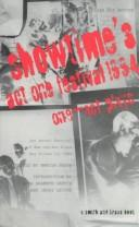 Cover of: Showtime's Act One Festival of one-act plays, 1994