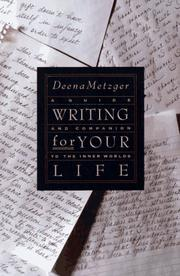 Cover of: Writing for your life