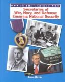 Cover of: Secretaries of War, Navy, and Defense