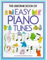Cover of: The Usborne Book of Easy Piano Tunes | Philip Hawthorn