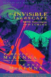 Cover of: The Invisible Landscape | Terence McKenna