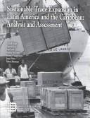 Cover of: Sustainable trade expansion in Latin America and the Caribbean |