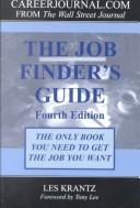 Cover of: The Job Finder's Guide