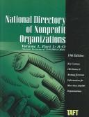 Cover of: National Directory of Nonprofit Organizations (National Directory of Non-Profit Organizations Vol 1) | Bohdan Romaniuk
