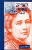 Cover of: Victoria Woodhull | Jacqueline A. Kolosov