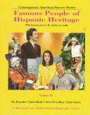 Cover of: Famous People of Hispanic Heritage | Barbara J. Marvis