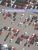 Cover of: Parking Standards (Pas (Planning Advisory Service) Report) |