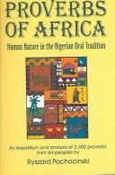 Cover of: Proverbs of Africa