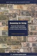 Cover of: Accounting for Saving
