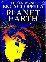 Cover of: Encyclopedia of Planet Earth (Usborne Encyclopedia Series) | Anna Claybourne