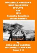 "Cover of: Zora Neale Hurston's 1939 Recording Expedition Into the Floridas and Collection of ""Cold Keener Reveu"" Plays"